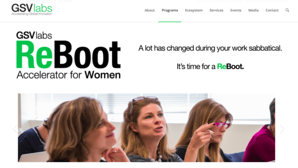 GSVLabs Reboot Accelerator for Women