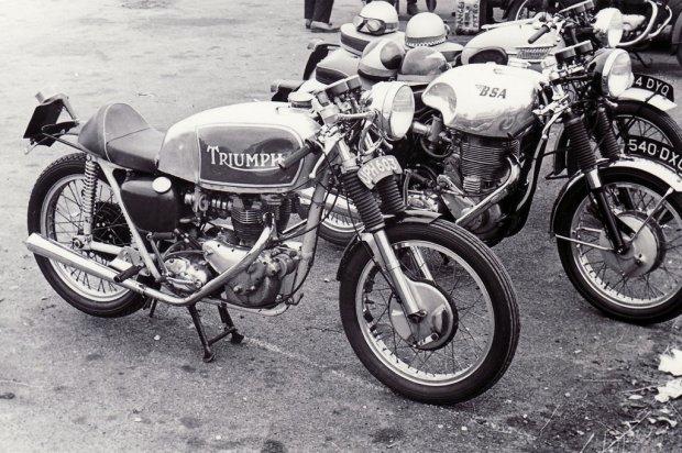 Image result for cafe racer 50s