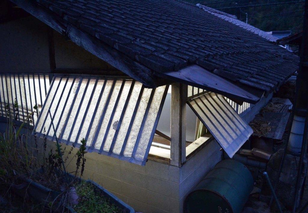 Izumo Washi - Handmade Japanese paper, lzumo Mingeishi Kōbō Drying Room, Matsue, Shimane prefecture