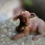 Passover Lamb Sculpture