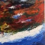 """""""Waves of Sea Glass"""" by Liz Kerr"""