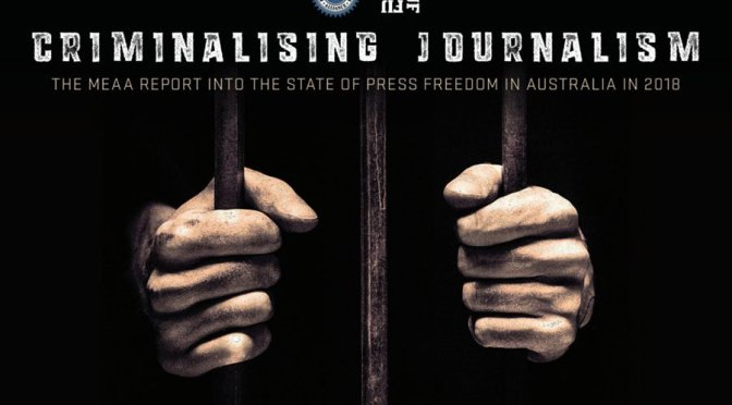 Press freedom in Australia is getting worse