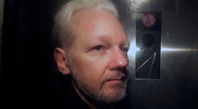 Assange hit by persecution on three fronts