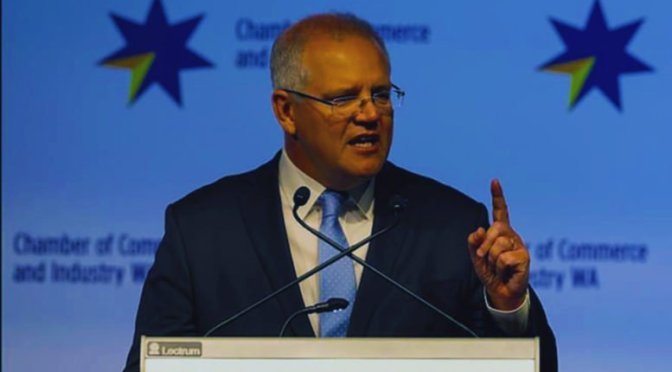 Scott Morrison declares intent to send industrial relations back to the Howard era