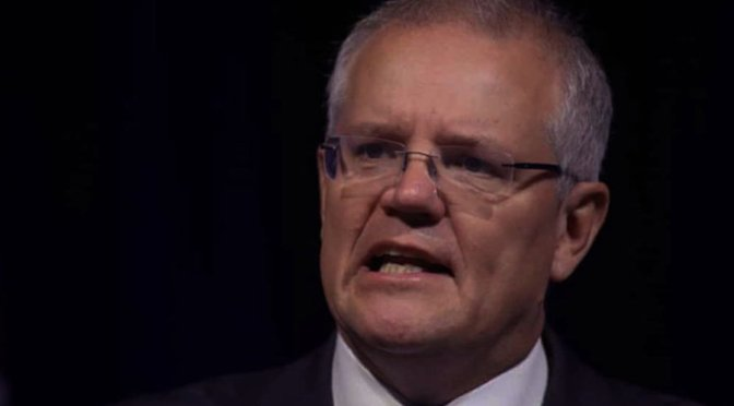 Morrison's attack on GetUp is still on