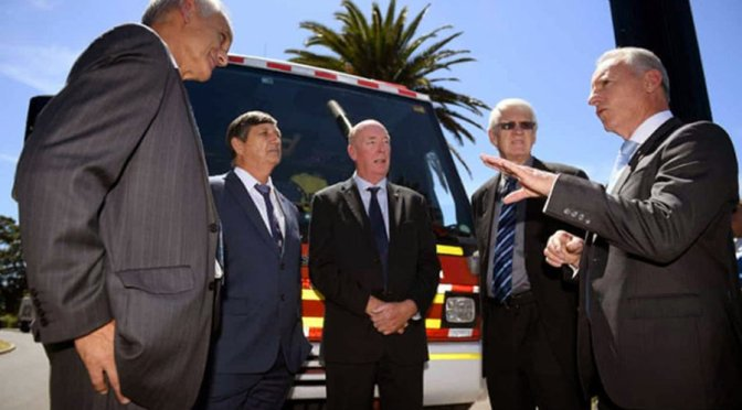 Former fire chiefs deliver climate change warning