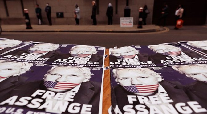Prominent media and human rights groups line up with Washington to black out Julian Assange extradition case