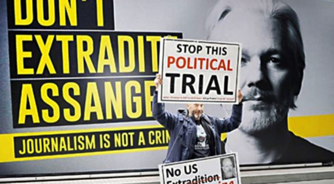 Julian Assange's fourth day at the Old Bailey