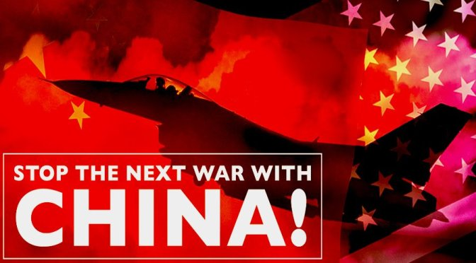 Stop drive to war with China