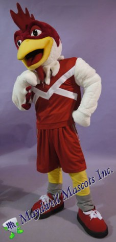 rooster mascot