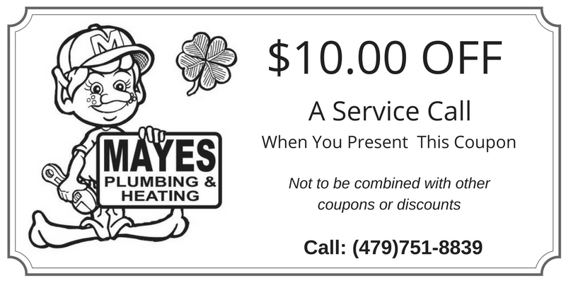 $10 Discount Coupon on Plumbing or Heating & Air Service