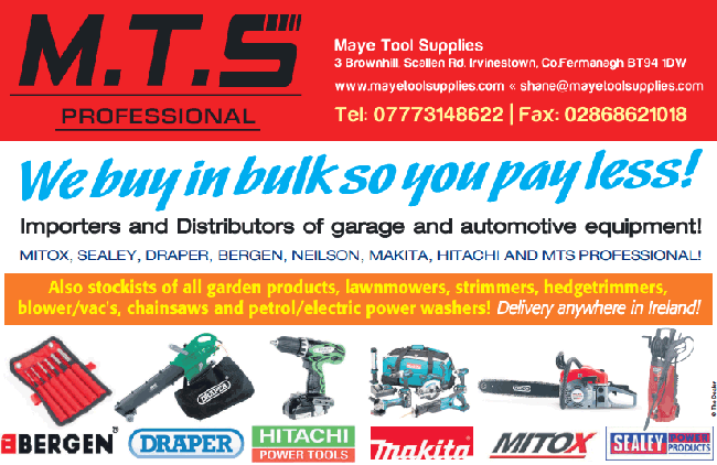 Maye Tool Supplies newspaper advert