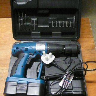 MTS Boxed Drill Cordless 18v