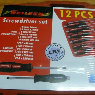 Nielsen 16pc Oil Fitter Wrench Set Cup Type
