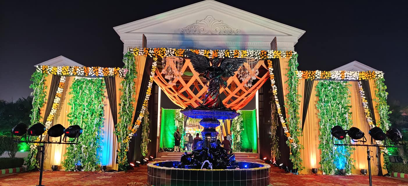 Banquet hall in bareilly Marriage hall in bareilly Wedding venue in bareilly  Mayfair Lawn