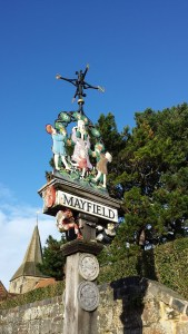 Photo of Mayfield Village sign