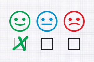 Image of choosing smiley icon
