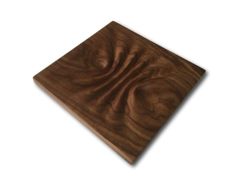 Gifts For Guys: Pinched Walnut Wave Valet / Art Decor