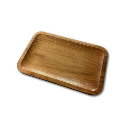 Walnut Rectangle Valet Tray