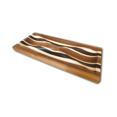 Four Points Walnut, Maple & Wenge Tray