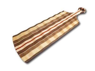 Custom Artisan Wave Serving Board