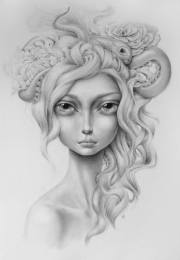 pop surrealist beauty poses
