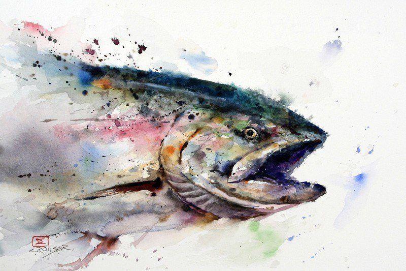 Dean Crousers Wild And Splashy Paintings Mayhem