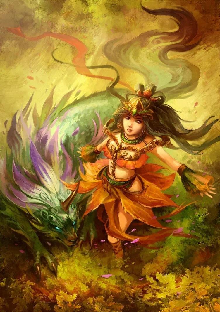 The Fantasy Fan Art Of Sandara « Illustration « Mayhem & Muse