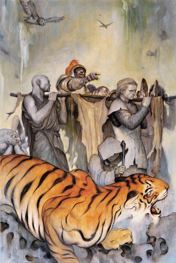 Fantasy Painting James Jean Of Tiger