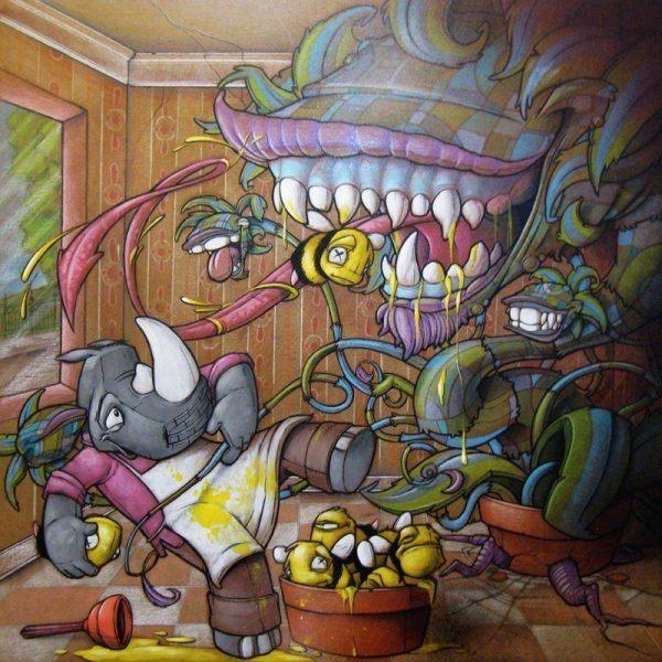 Stories Paintings Graffiti Artist