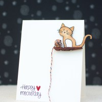 CASology #104: Happy Meowday Card
