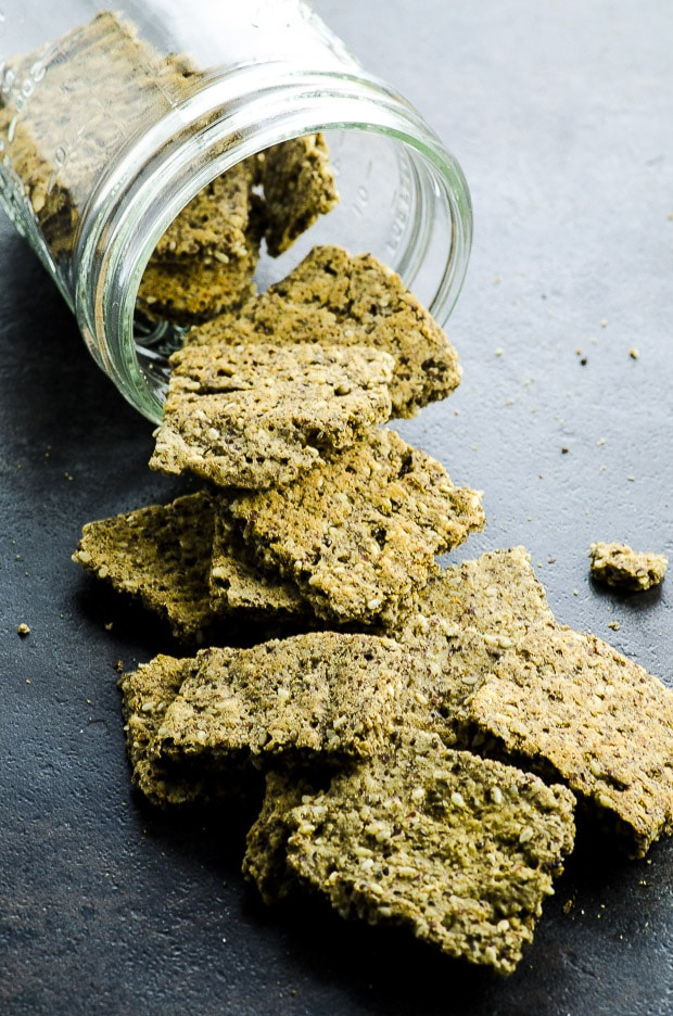 Vegan Protein Crackers