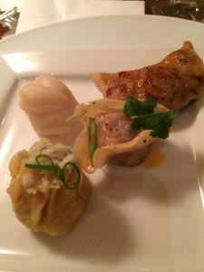 assorted dumplings