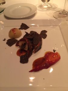 lobster (with black truffles)