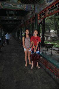an empty Summer Palace