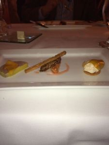 foie gras 3 ways