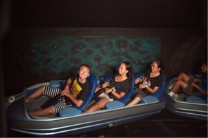 on Space Mountain