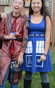 Star Lord & a Tardis