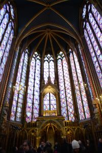 Sainte-Chapelle (the photo does not do justice to the beauty)