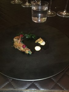 squab & oysters