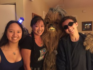 The Tardis, Darth Vader, Chewbacca, & Captain Cold