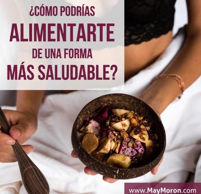 4. ¿Cómo puedes alimentarte de una forma más saludable y …responsable?