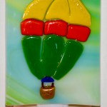 Fused Glass Hot Air Balloon Nightlight