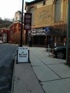The Jim Thorpe Independent Film Festival in Jim Thorpe, PA.