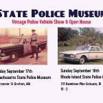 State Police Museum Vintage Police Vehicle and Open House – Great Cause