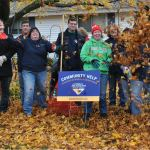 Middlesex Bank Employees Volunteer for Fall Cleanup