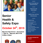 Maynard Police and Fire Invite Public to Attend Senior Health and Safety Expo