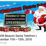 WAVM Beacon Santa Telethon is NOW!
