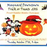 GET READY! Downtown Trick or Treat is Thursday! (10/27)