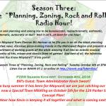 Town Planner WAVM Radio Show Begins Tomorrow (Oct. 4th)